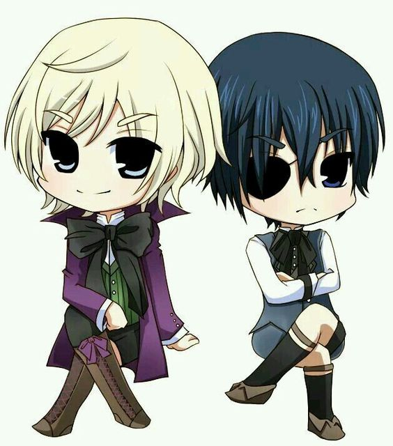 Anime Characters Child Reader : Nyyyaa to cute chibi earl alois trancy and ciel