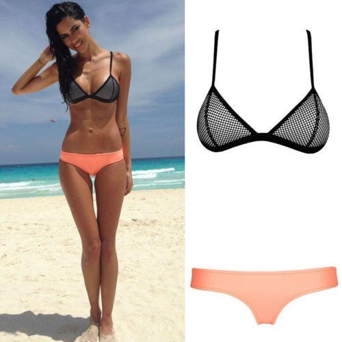 Womens-Triangle-Bandage-Beach-Bikini-Set-Push-up-Swimsuit-Strappy-Suit-Swimwear