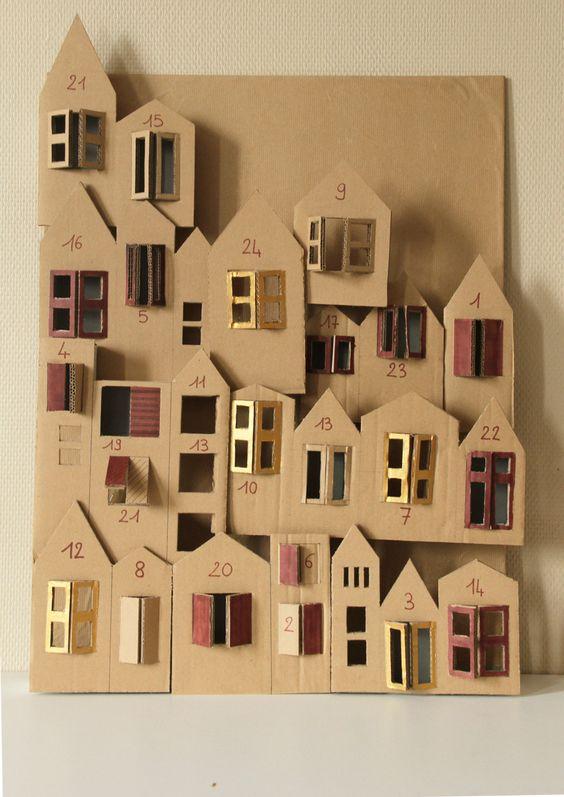 Tuto DIY Calendrier de l'Avent: