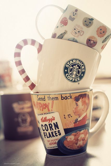 I love the 'Send them back happy' cup, I've the same at home x)