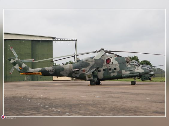 Mi-24P Sri Lanka Air Force