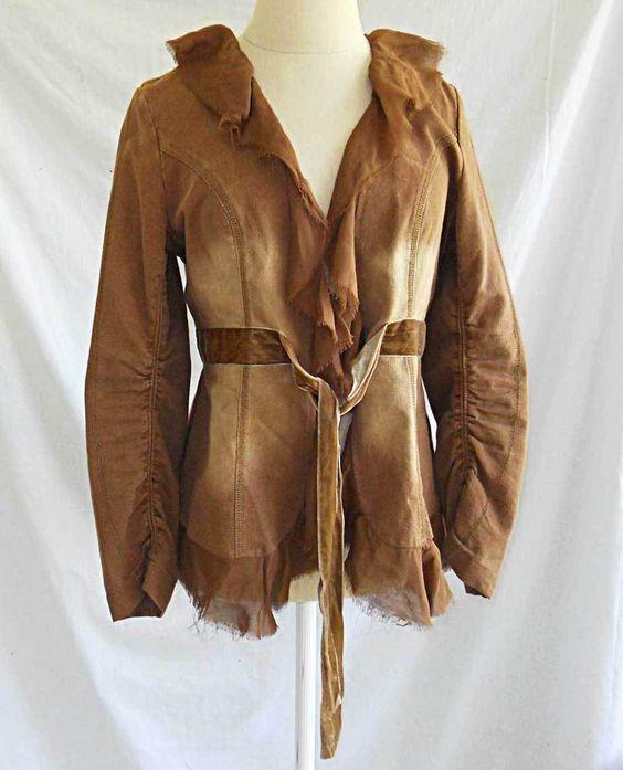 DVF Diane Von Furstenberg Trophy Jacket Embroidered Blazer Vintage Cowgirl 0 | eBay