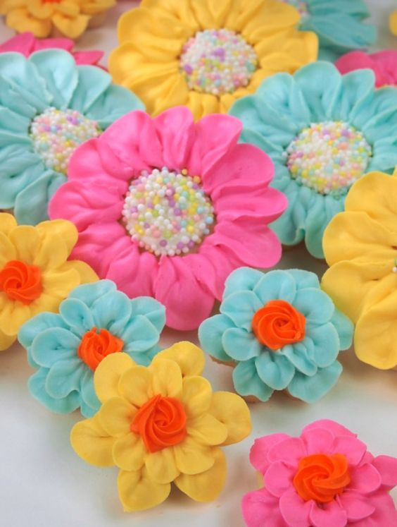 How to by Sweet Sugerbelle - Bright and Pretty Daisy Cookies