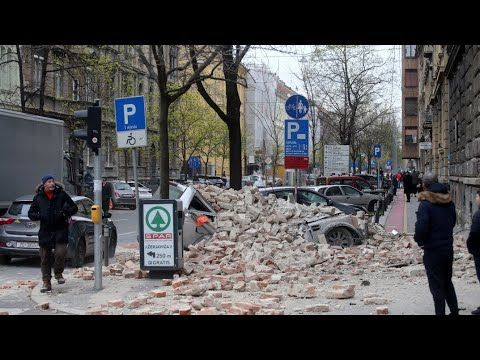 Zagreb Earthquake Croatia Is Hit By 5 3 Magnitude Earthquake March 22n Zagreb Earth From Space Scenes