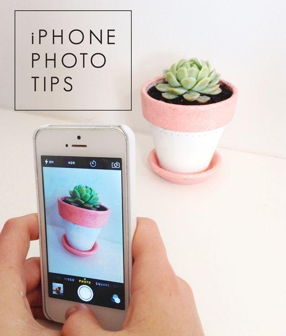 vanilla craft blog: iphone photo tips
