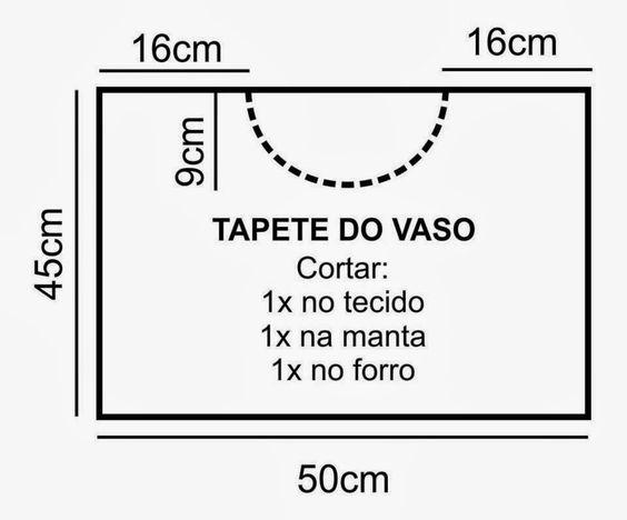 Aparador Bar Bechara ~ Jogo de banho em patchwork passo a passo Artesanato Brasil artesanato Pinter