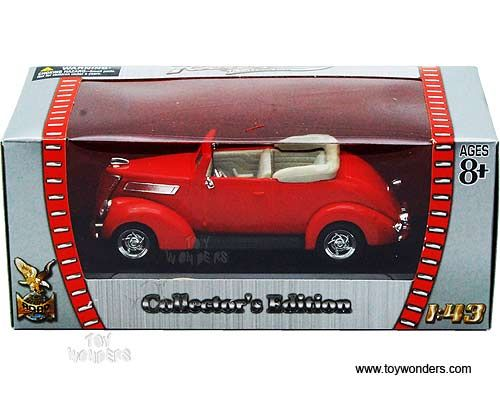 1937 Ford V8 Hot Rod in Red 1:43 scale