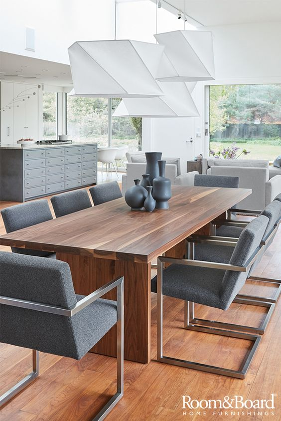 Find modern dining room furniture designed for the way you dine.