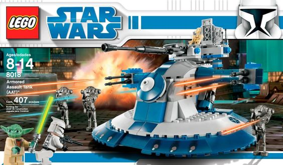 Amazon.com: LEGO Star Wars Armored Assault Tank (AAT) (8018): Toys & Games
