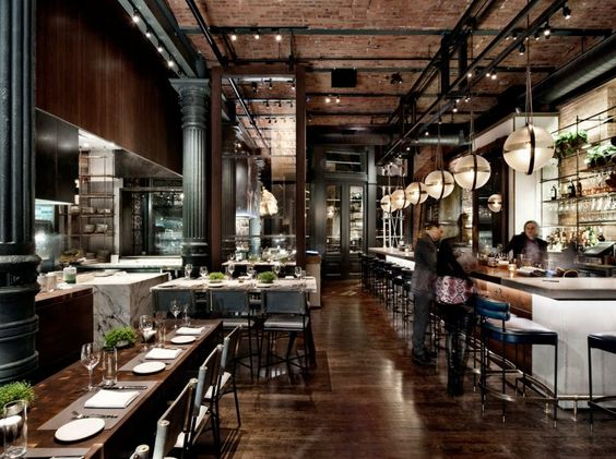 Nice cool restaurants in nyc chefs club new york best for Best interior designers in new york