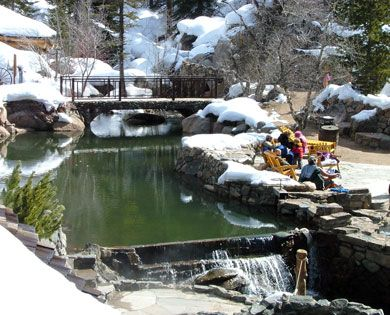 Glamping and natural hot springs at Strawberry Park Hot Springs | Steamboat Springs, CO