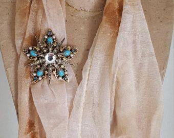 Signed Art Vintage Star Rhinestone Brooch - Art Vintage Turquoise Jewelry - Vintage Rhinestone Double Star Pin - Vintage Costume Jewelry - Edit Listing - Etsy