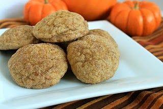 Pumpkin Snickerdoodles - ummmm yes please.