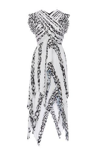 Cap Sleeve Pleated Dress by PROENZA SCHOULER for Preorder on Moda Operandi
