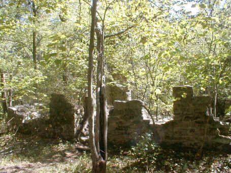 Robinson Ruin Rock House Site and Plantation in Mecklenburg County, North Carolina.