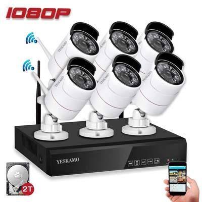 Top 10 Best Outdoor Wireless Security Camera System With Dvr In Review Wireless Security Camera System Wireless Home Security Systems Wireless Security Cameras