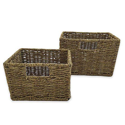 Baskets Bed Bath And Beyond Canada Basket Bath Furniture Wicker Baskets Storage