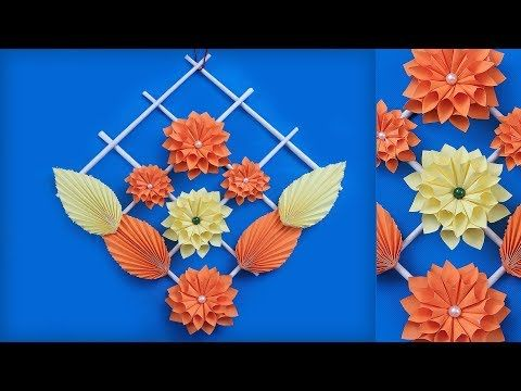 Easy Diy Paper Wall Decor Making At Home Handmade Things
