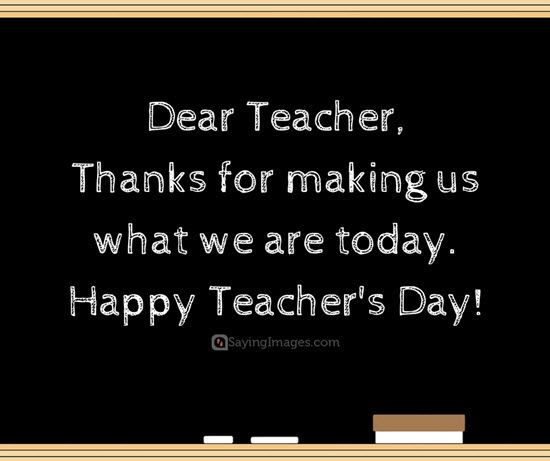 quotes about teachers day