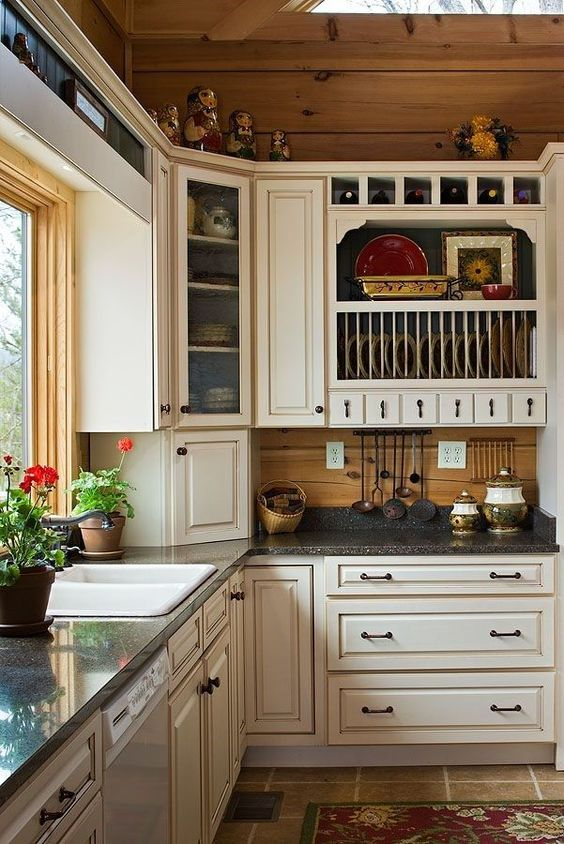 Painted kitchen cabinets barndominium and kitchen tops on for Best home kitchen cabinets surrey
