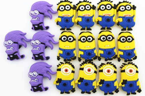 16pcs(4×4)despicable Me Party Gifts Baby Shoe Charms for Jibbitz Croc Shoe Charmers http://www.amazon.com/dp/B00GN4S6OE/ref=cm_sw_r_pi_dp_3kwTtb18ZDG5GF1V