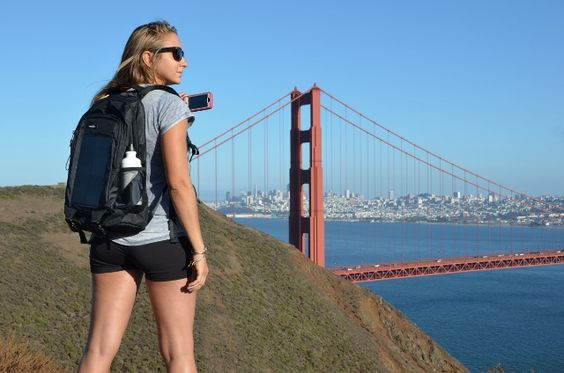 The famous Golden Gate Bridge in San Francisco with BirkSun