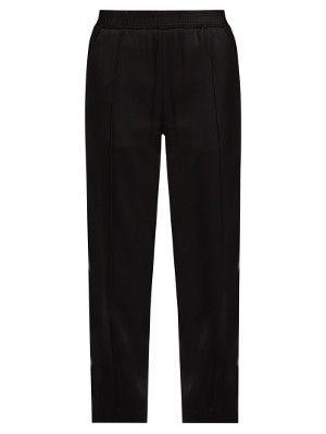 Glyzine smocked-waist satin trousers | Haider Ackermann | MATCHESFASHION.COM