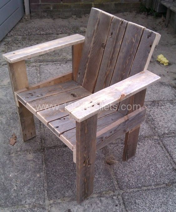 Pallet Kitchen Chairs: Little Child Pallet Chair • Pallet Ideas