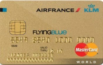 Air France KLM | Flying Blue | World MasterCard Gold | Viseca CH