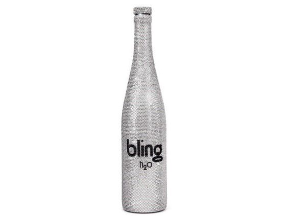 Garrafa de água da marca Bling H2O