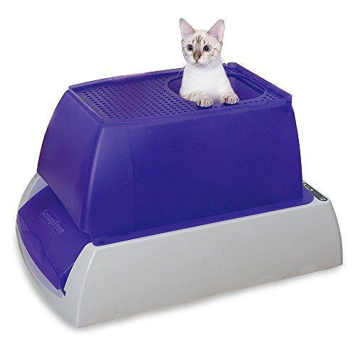 Petsafe Scoopfree Ultra Self Cleaning Cat Litter Box Covered Automatic With Disposable Tray 2 Color Options Cats Catlitterbox Dieren