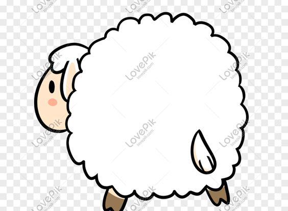 27 Gambar Kartun Domba Putih Kartun Kotak Dialog Kreatif Kambing Kecil Gambar Unduh Download Gambar Terpencil Model Mendorong I Kartun Domba Gambar Kartun