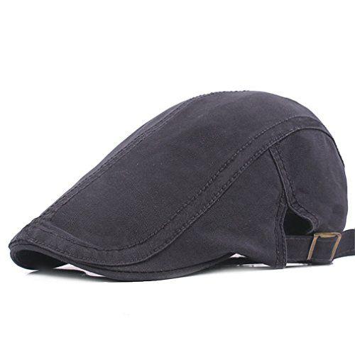 Fasbys Mens Flat Cap Baumwolle Newsboy Gatsby Beret Hats