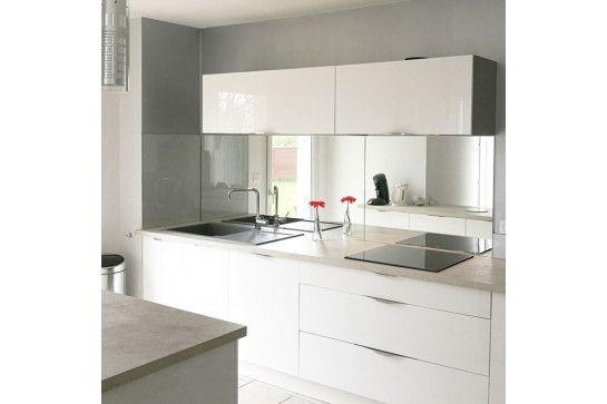 Miroir Argente Miroir Sur Mesure Decoration Maison Credence