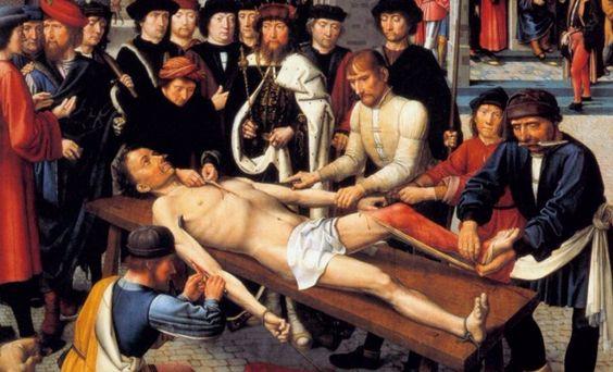 A través de los siglos el humano ha creado y reinventado los métodos de tortura. Hoy podemos conocerlos a través de las estas obras.