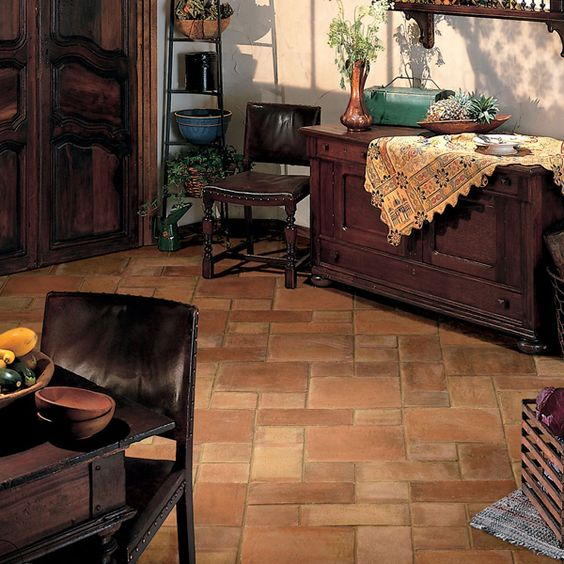 Yes Love This Pattern With Multiple Sizes Daltile Saltillo Porcelain Tile