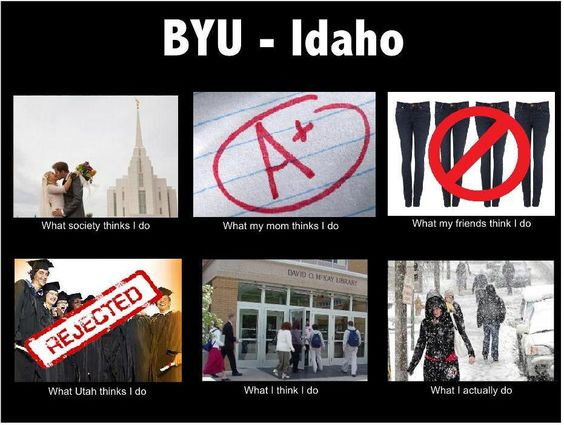 BYU-Idaho October-July:
