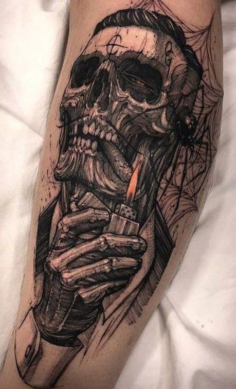 The Look Nice Nice Calaberas Tattoo Diseno De Tatuaje De Calavera Tatuaje Hecho En Mexico
