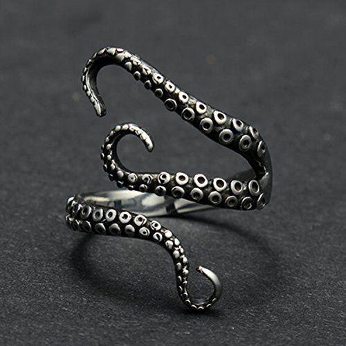 Vintage Titanium Steel Octopus Sea Monster Squid Kraken Punk Antique Ring Retro By PaPa's Bubble PaPa's Bubble http://www.amazon.com/dp/B01651K6M4/ref=cm_sw_r_pi_dp_wx.Hwb04K1CBR