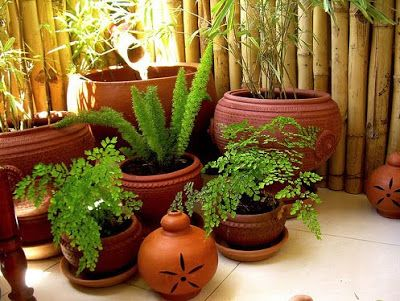 Rang decor interior ideas predominantly indian my sunny for Terrace garden in india