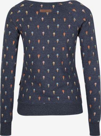 Sweatshirt 'Schnullerbacke' - Blau