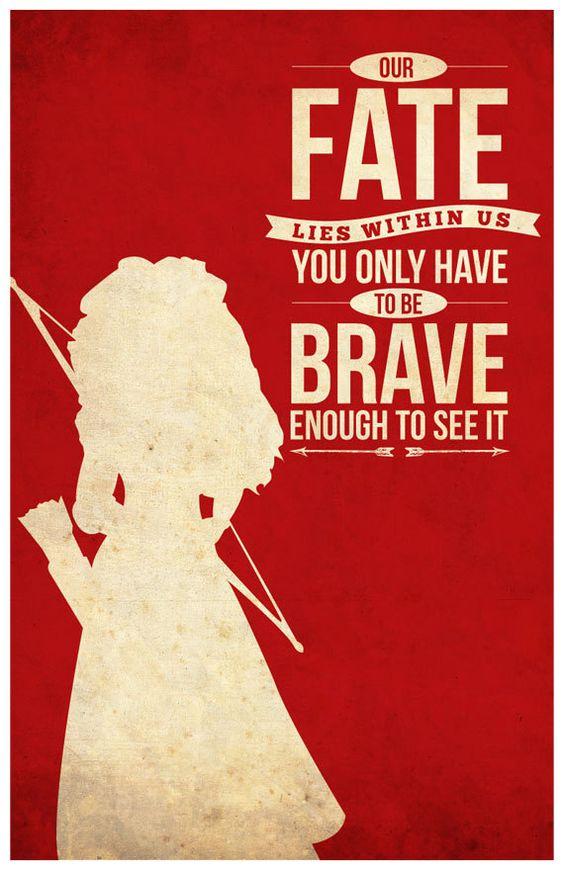 Brave - poster - Sana Sini