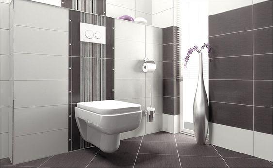 fliesen sind die klassiker im bad eine kombination aus verschiedenen formaten von badfliesen. Black Bedroom Furniture Sets. Home Design Ideas