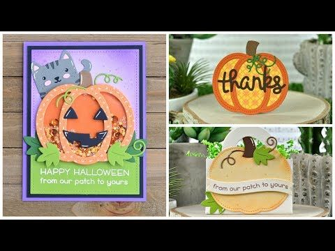 Halloween 2020 Pumpkin Intro Pin by Laura Reeves on Halloween Cards in 2020 | Lawn fawn, Lawn