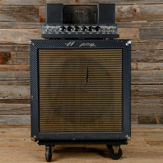Ampeg B-15N Fliptop Amp 1968