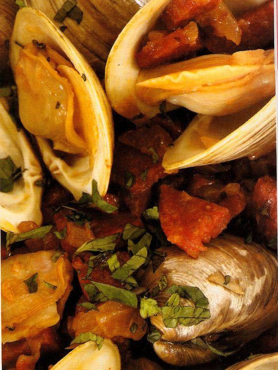 ... with Chorizo | Seafood and Fish | Pinterest | Clams, Chorizo and Pasta