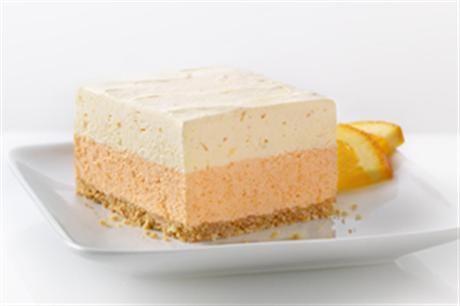 Orange Dream Layered Squares - Easter dessert idea