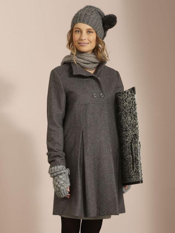 Maternity Bliss: Maternity Winter Coat | Sewing | Pinterest