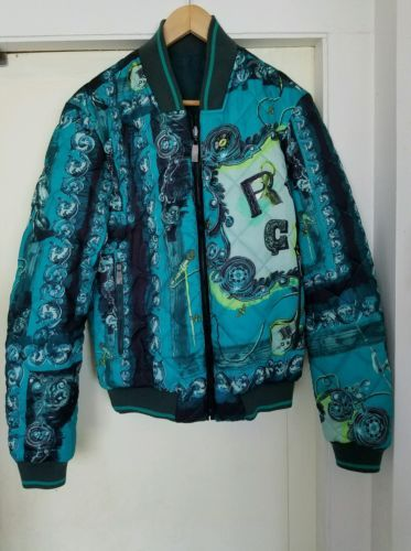 Gianni Versace Multi-Color Polyester Reversible Full Zip Bomber Jacket Size 50 https://t.co/235VgMpUxI https://t.co/OaF8v2AIhy