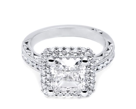 speechless. Tacori engagement ring.